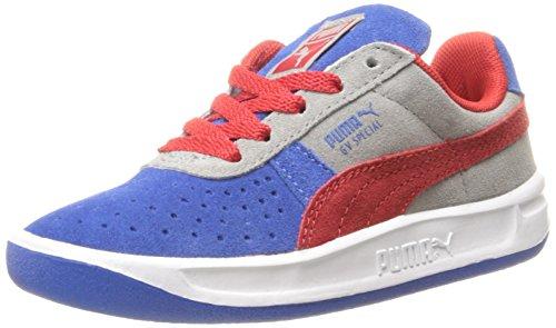 PUMA GV Special Sneaker (Infant/Toddler/Little Kid) ,Nautical Blue/High Risk Red/Limestone Gray,11 M US Little Kid