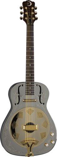 Luna Guitars Steel Magnolia ST MAG RES Resonatorgitarre, vernickelt