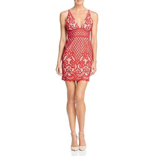 StyleStalker Women's Lani Mini Dress Earth Red Dress XS (US Women's 0-2) by StyleStalker
