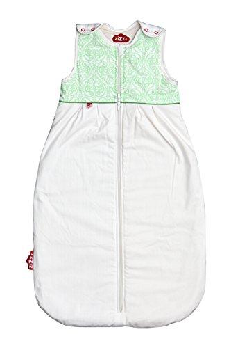 Zizzz Saco de dormir de 6-24 meses de lana y algodón biológico - Verde: Amazon.es: Bebé