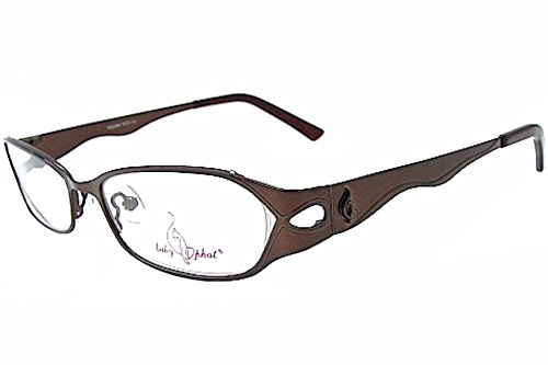 Baby Phat Women's Eyeglasses 139 Mocha Moc Full Rim Optical Frame 51mm ()