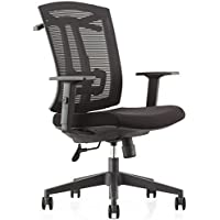 CMO Ergonomic Mesh High-Back Ultra Computer Office Chair with 2-to-1 Synchro-Tilt Control, Seat Glide, Big & Tall Executive Chair with PU Headrest, Adjustable Arms and Suit Hangers
