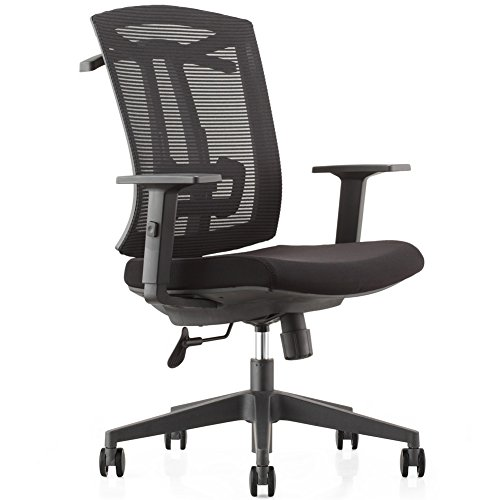 Multi Tilt Ergonomic Chair (CMO Ergonomic Mesh High-Back Ultra Computer Office Chair with 2-to-1 Synchro-Tilt Control, Seat Glide, Big & Tall Executive Chair with PU Headrest, Adjustable Arms and Suit Hangers)