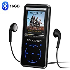 Why Choose Soulcker MP3-Player ♫ Built-in Speaker: You can listen your favorite music without headphone ♫ Long Battery Life & Fast Charge: Up to 55 hours of playback with 2 hours of full charge ♫ FM Radio: Built-in FM tuner, it supports M...