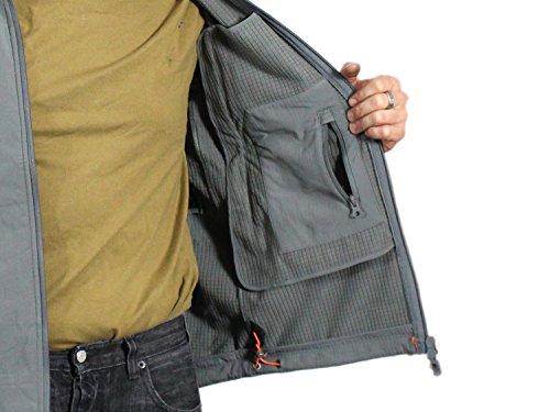 20c6ee7ca Pentagon Softshell Jacket -Artaxes-, wind- & waterproof, with hood ...