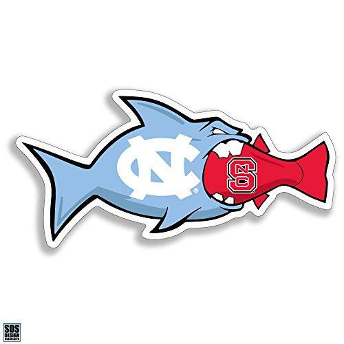North Carolina Tarheels /NC State Wolfpack Rival fish 3