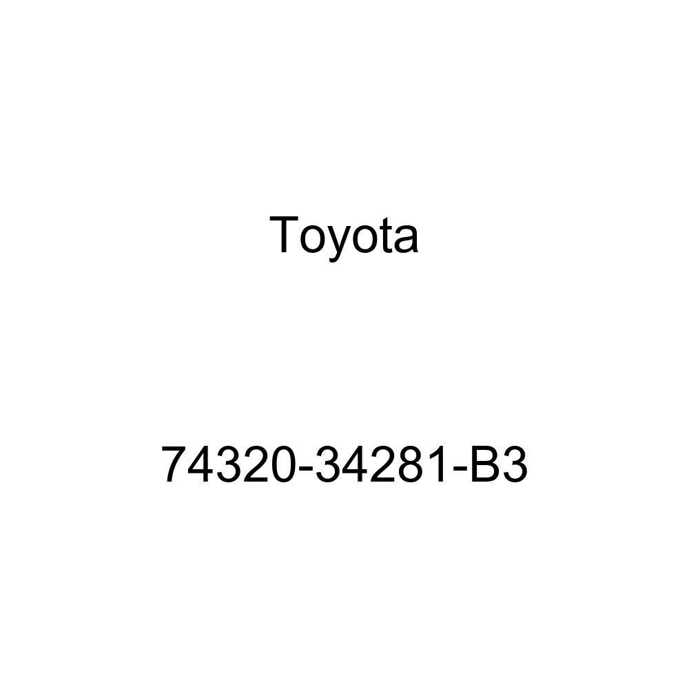 TOYOTA Genuine 74320-34281-B3 Visor Assembly