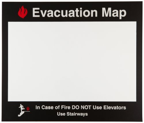 Evacuation Map Holder (Brady 102852 17.5