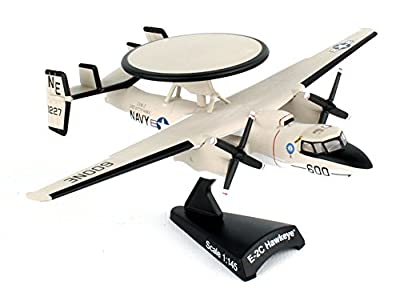 Daron Worldwide Trading Postage Stamp USN E-2C Hawkeye 1/145 Vaw-116 Sun K Airplane Model