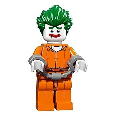 LEGO Batman Movie Series 1 Collectible Minifigure - the Joker Arkham Asylum (71017): Toys & Games