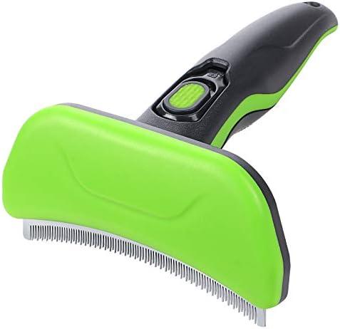 G.C Dog Deshedding Tools Grooming Brush for Shedding Pet Self-Cleaning Remove Loose Hair Brush for Short Medium Long Hair Pets