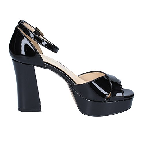 Charol Mujer Vestir RUBINI de OLGA Zapatos de Para Negro CvqXWwP7