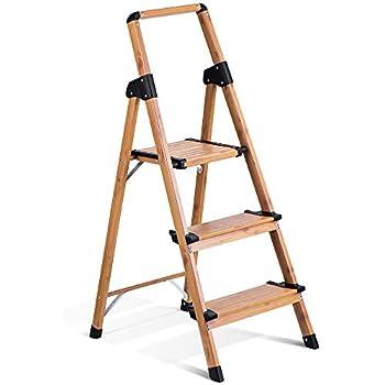 Amazon Com Core Studio Sl3hlight Slimline 3 Step Ladder
