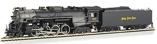 Bachmann Industries Trains 2-8-4 Berkshire Dcc Sound Value Equipped Nickel Plate #759 Ho Scale Steam Locomotive -