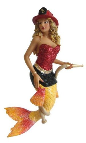 December Diamonds Flame Mermaid Ornament