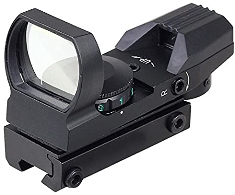 MAYMOC 11mm adjustable bottom track.Sight Multi Reticle 4 Red Dot Sight Scope Mount dovetail Hunting and Outdoor Camera