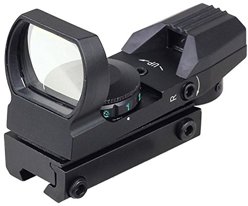 MAYMOC 11mm adjustable bottom track.Sight Multi Reticle 4 Red Dot Sight Scope Mount dovetail Hunting and Outdoor Camera Accessories