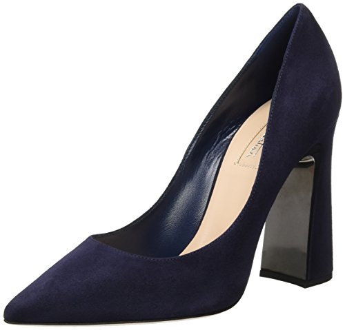 Sebastian S7397 Toe Cam blue cf Women's Blue Closed Professional not Heels OZwxOA6q