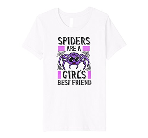 Halloween For For Costumes Girls Friends Best Two (Kids Halloween Shirts For Girls Spiders Are A Girl's Best Friend 10)