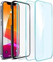 vau Panzerglas kompatibel mit iPhone 12/12 Pro (6.1) - Glas Pro Schutzfolie 3 x Folie Vorne + Installationswerkzeug (Full...