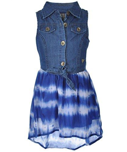 GUESS Kids Little Girl Tie-Dye Two-Fer Dress (2-6x)