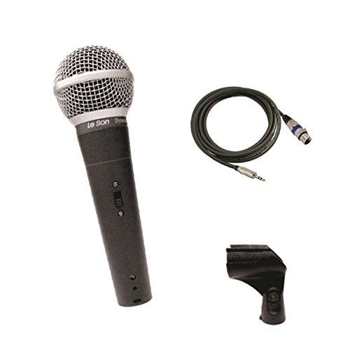 Microfone Dinâmico de mão para DSLR Leson LS58