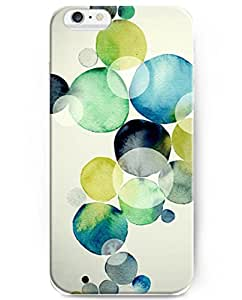 UKASE Awesome iPhone 6 (4.7inch) Case Cover for the Fashionista with the Fashion Design of Colorful Bubbles Ink Painting