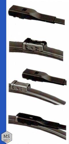 400 mm Wischerblaetter AERO PLATINUM EDITION NEU MS2 2 Stueck PLATINUM Scheibenwischer SET 700