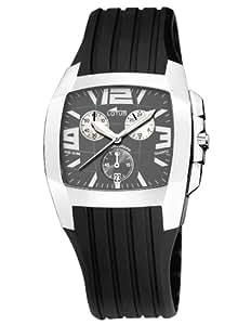 Lotus 15317-2 - Reloj de caballero de cuarzo con correa de plástico negra
