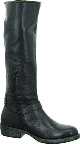 Pepe Jeans Dietrich Motorbike - Botas estilo motero de cuero mujer negro - negro
