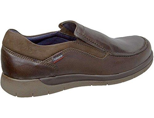 Callaghan 10601 Wagon - Zapato casual caballero, Adaptaction, Adaptlite Marron
