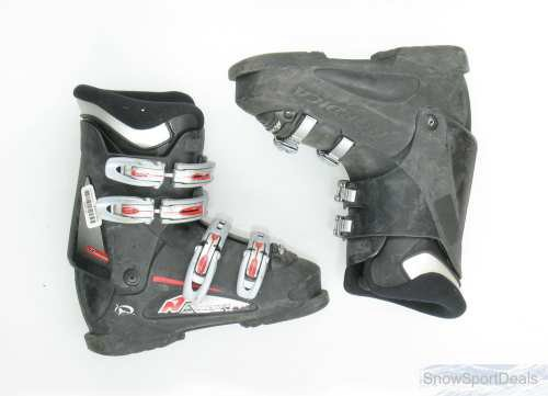 Used Nordica B Black Ski Boots Men's Size (Nordica Mens Ski)