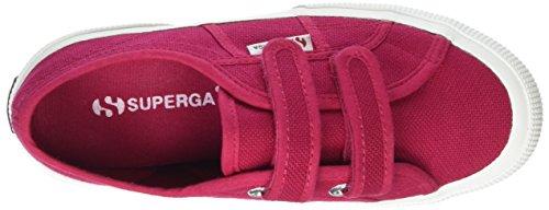 Superga 2750 Jvel Classic Zapatillas Unisex Para Niños Rojo (X6R Red Cerise)