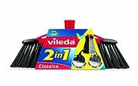 Vileda 141460 2-in-1 Zimmerbesen Classica - Kombination von zwei Borsten -...