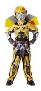 Rubies Transformers Bumblebee - Disfraz para niños (talla L)
