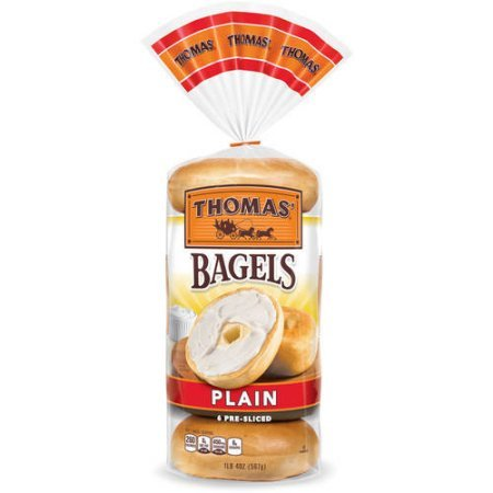 Thomas Plain Bagels  6 Ct  20 Oz