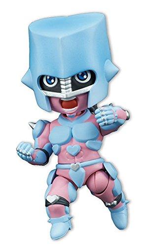 みにっしも TVアニメ「ジョジョの奇妙な冒険 ダイヤモンドは砕けない」 『クレイジー・ダイヤモンド』約11cm PVC・ABS製 塗装済み可動フィギュア