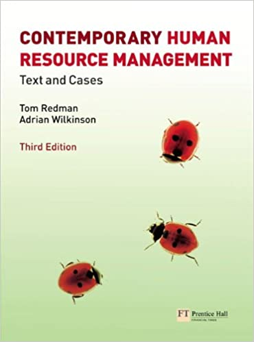 Contemporary human resource management text and cases 3rd edition contemporary human resource management text and cases 3rd edition 3rd edition fandeluxe Choice Image