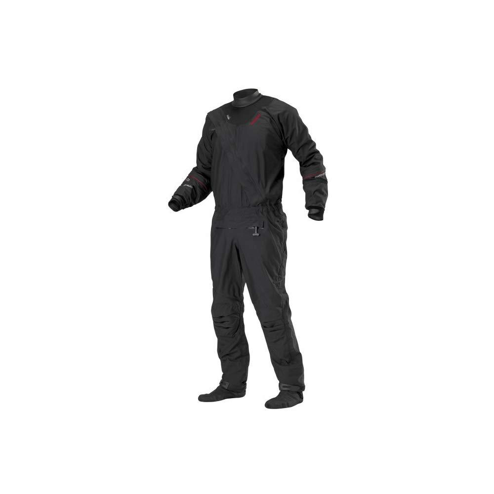 Stohlquist Ez Drysuit (Black, Large) by Stohlquist Waterware