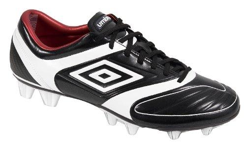 Umbro Fußballschuh TROPHY HG (black/white/red)