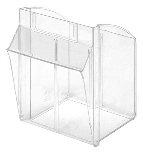 Tip-Out Bin,Clear,F/Mfr. No. QTB304 by Quantum Storage Systems