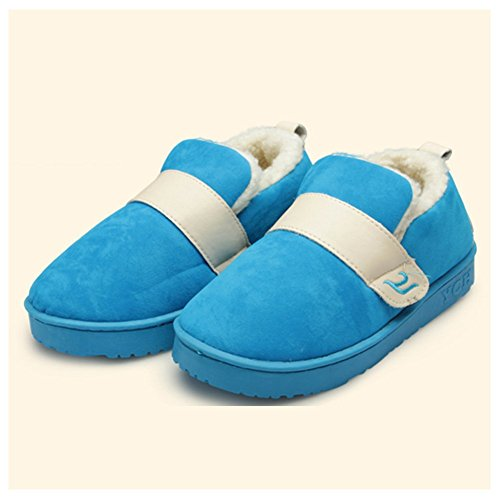 M&A Unisex-Erwachsene Hausschuhe Blau 35-36 nFZkx