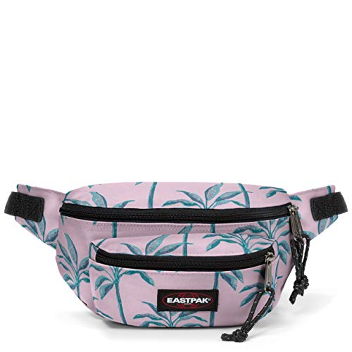 Eastpak Doggy Bag Gürteltasche, 27 cm, 3 L, Pink (Brize Trees)