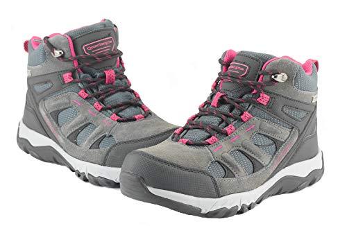 Qomolangma Women/'s Waterproof Hiking Shoes Lightweight Non-Slip Breathable Running Camping Outdoor Trekking Sneakers