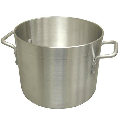 Winco Winware Aluminum Stockpot, 12-Quart 12 Quart Aluminum Stock Pot