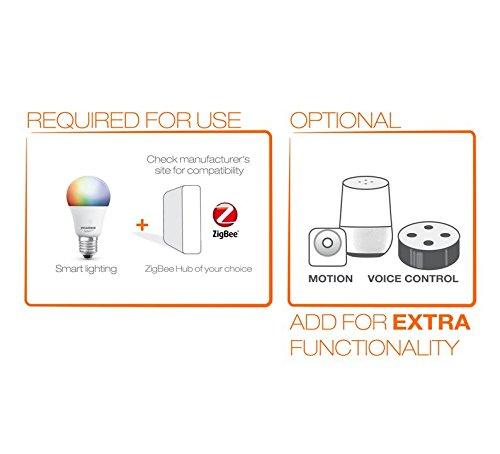 Sylvania Smart+ ZigBee Bulb, Dimmable A19 LED Bulb, 60 Watt