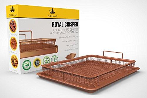 royal-copper-crisper-tray-air-fryer-by-kitchen-royale