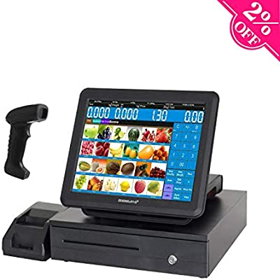 zhongji All-in-One con sistemas Cajas registradoras, con pantalla ...