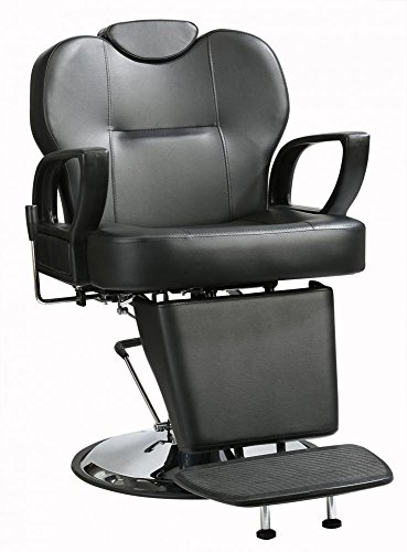 All Purpose Hydraulic Recline Barber Chair Salon Beauty Spa Shampoo Styling by BestSalon
