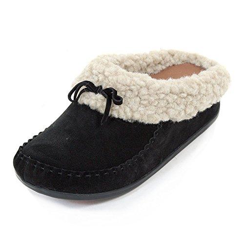 FitFlopThe Cuddler Snugmoc - Zapatillas de estar por casa mujer Marrón - Marron (chestnut)